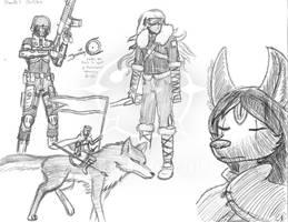 Rando's Sketches 12 by Vaguescribbles