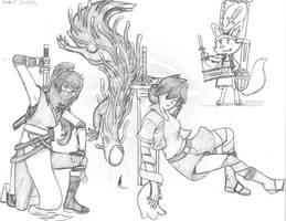 Rando's Sketches 13 by Vaguescribbles