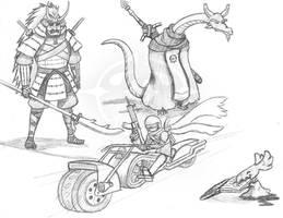 Rando's Sketches 16 by Vaguescribbles