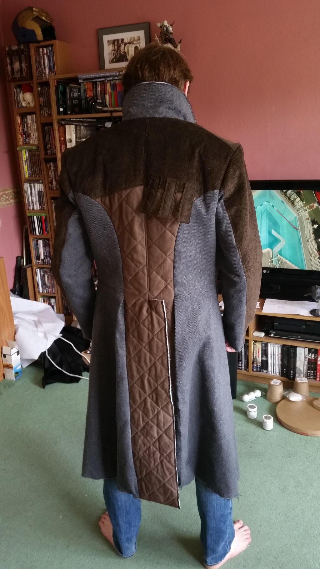 how to make jacob frye coat