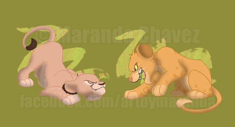 Spotted Lion Cubs 2