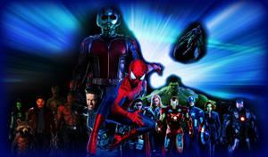 Spiderman, Wolverine, Avengers, Guardians