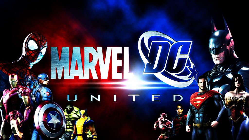 Marvel And Dc United By Domrep1 On Deviantart
