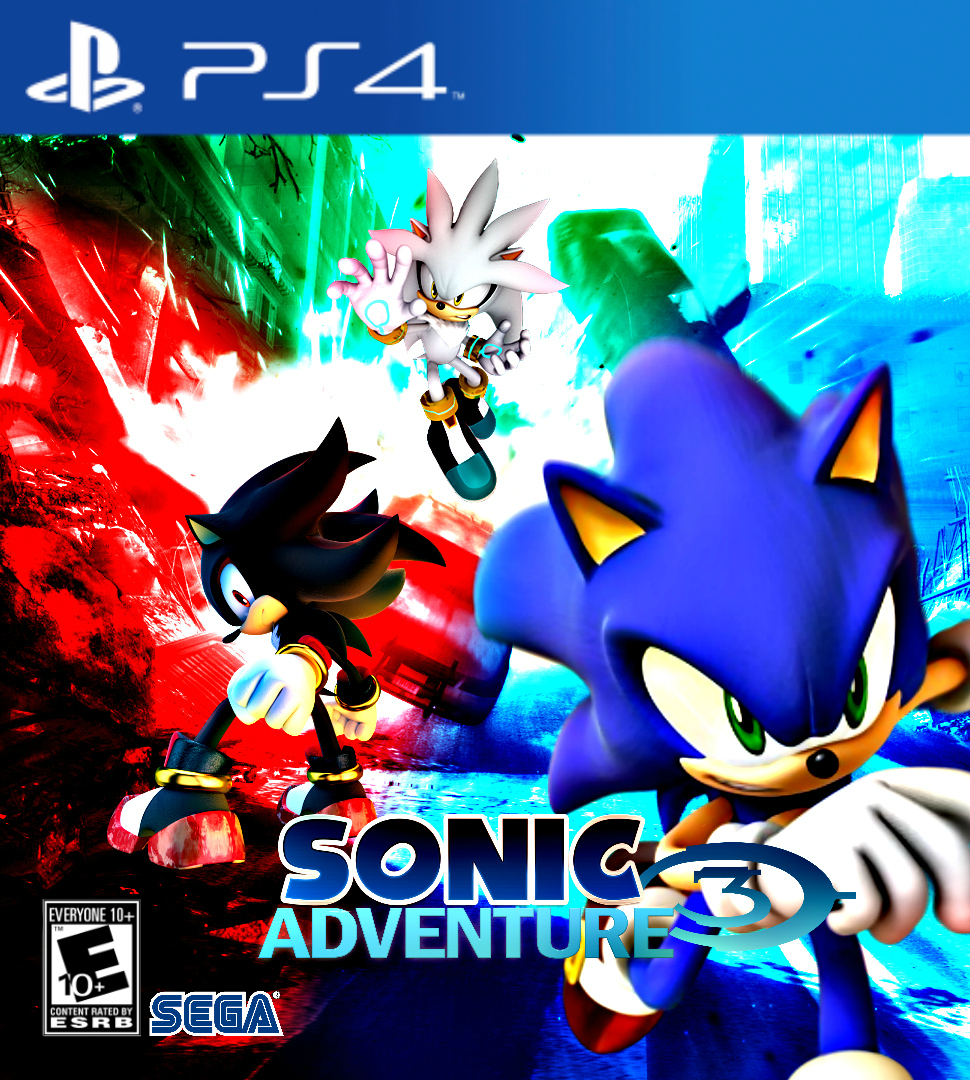 Sonic Adventure 3 PS4 by DOMREP1 on DeviantArt