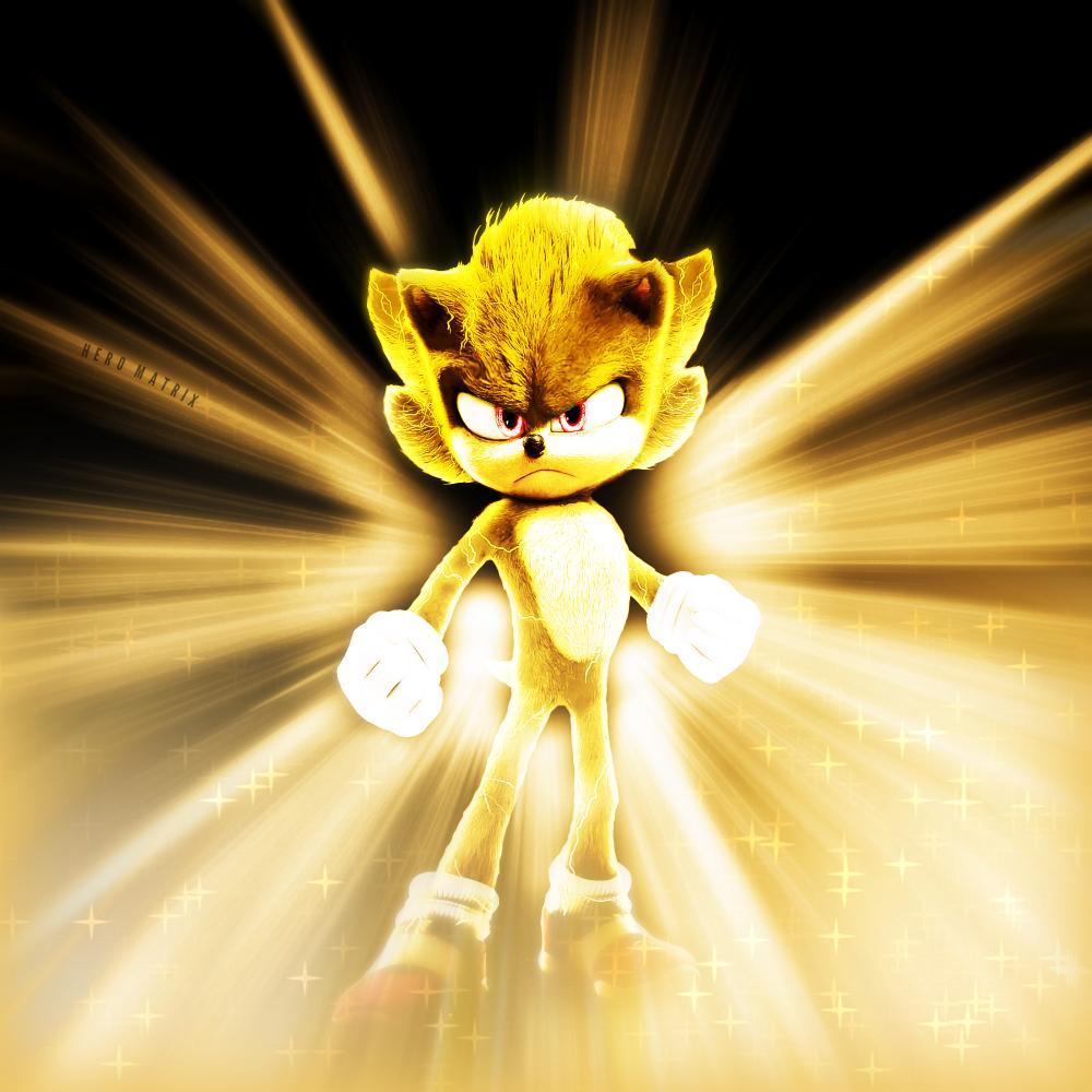 Super Sonic The Hedgehog 2020 By Domrep1 On Deviantart