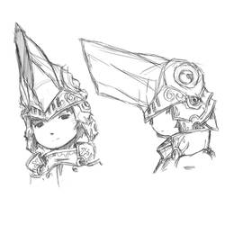 Kaiju Helm by Ar-Jaey