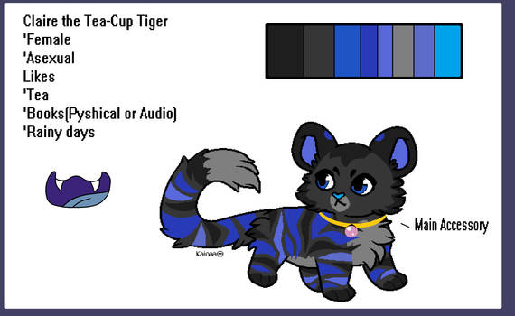 Claire the Tea-Cup Tiger