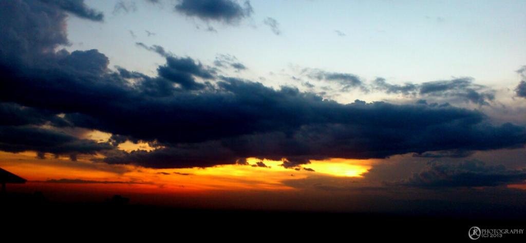 Bukidnon Sunset by jeyk-O