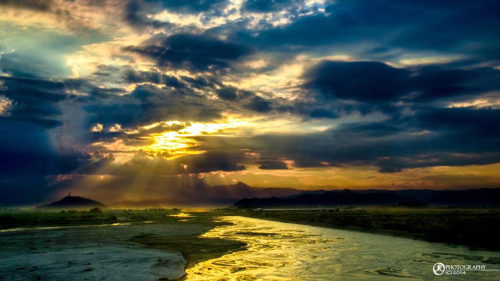 SCTEX sunset by jeyk-O