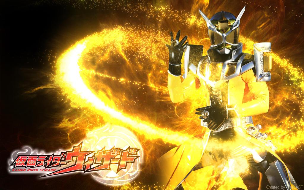 Kamen Rider Wizard Land Dragon Wallpaper by Nac129