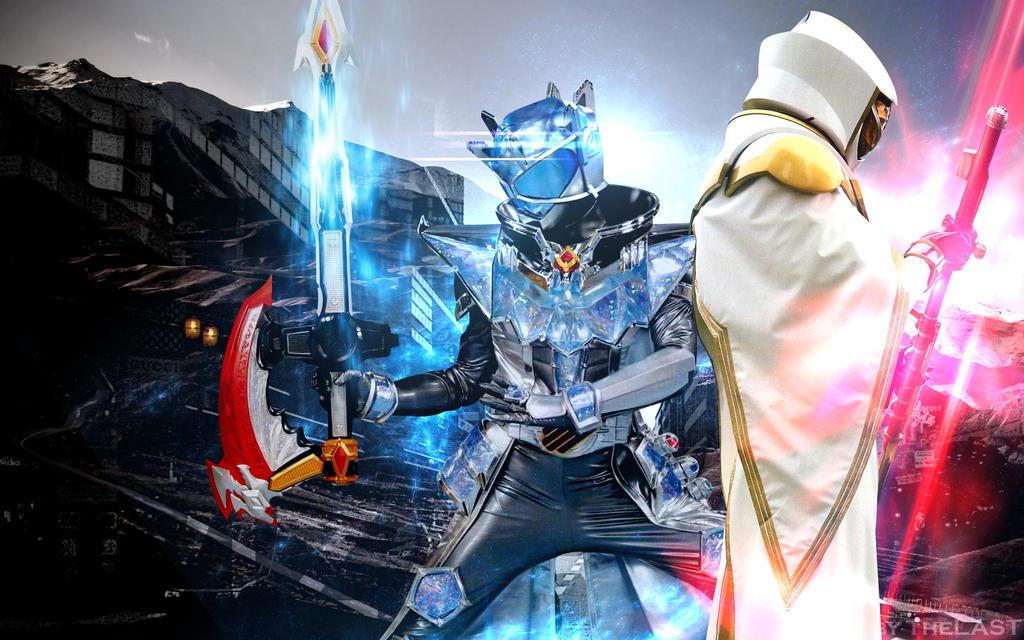 Kamen Rider Wizard VS White Wizard Wallpaper by Nac129 on ...
