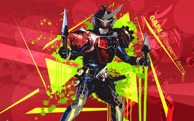 Kamen Rider Gaim Strawberry Arms Wallpaper by Nac129