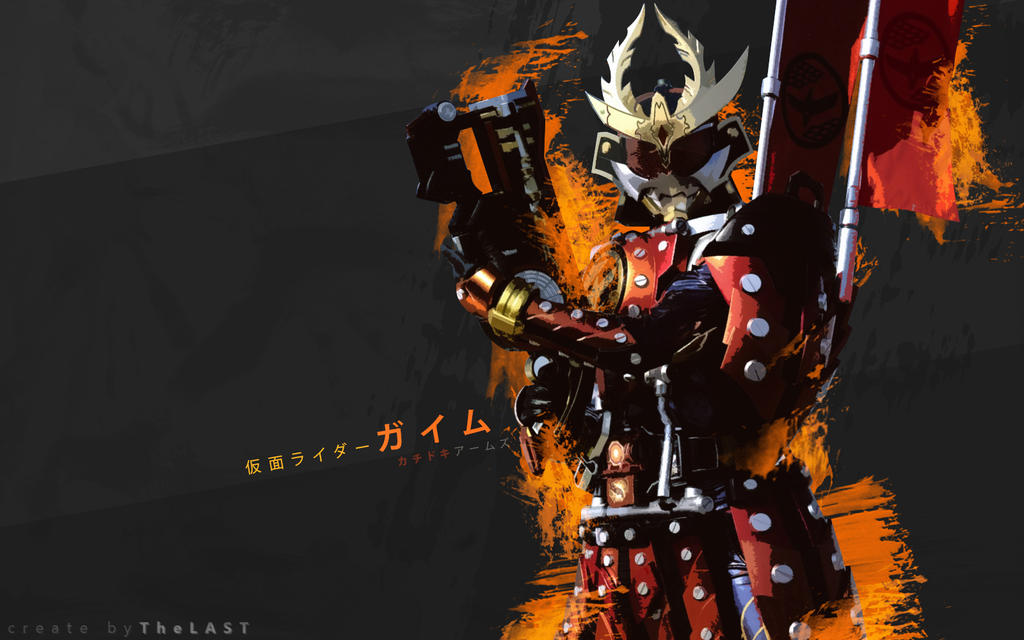 Kamen Rider Gaim Kachidoki Arms Wallpaper by Nac129 on ...