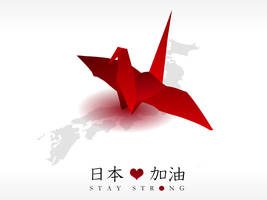 Stay Strong, Japan by johnchan