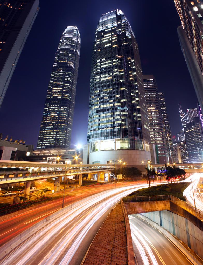 Below the Skyscrapers by johnchan