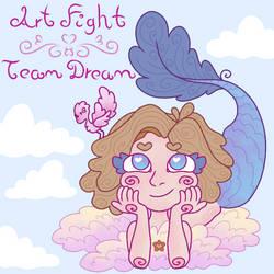 Dream [Art Fight] by Drea-the