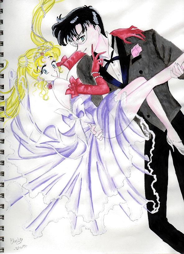 Usagi And Mamoru A Love Like No Other Usagi and Mamoru by An...