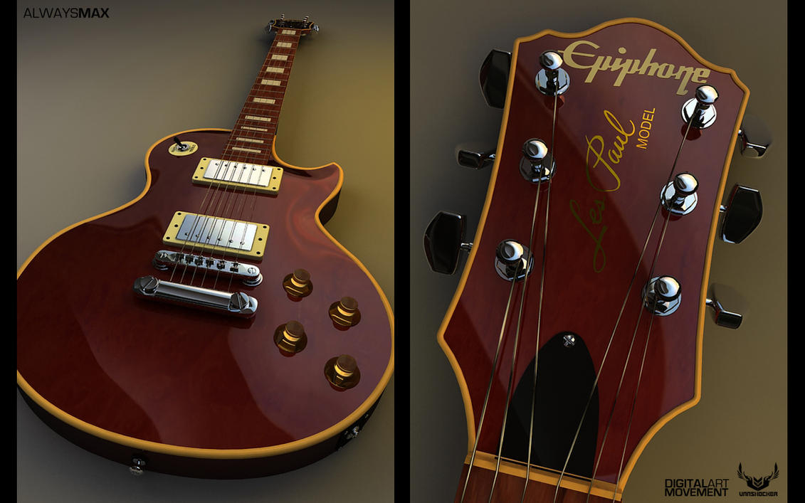 Epiphone Wallpapers: Epiphone Les Paul By V4n5hock3r On DeviantArt
