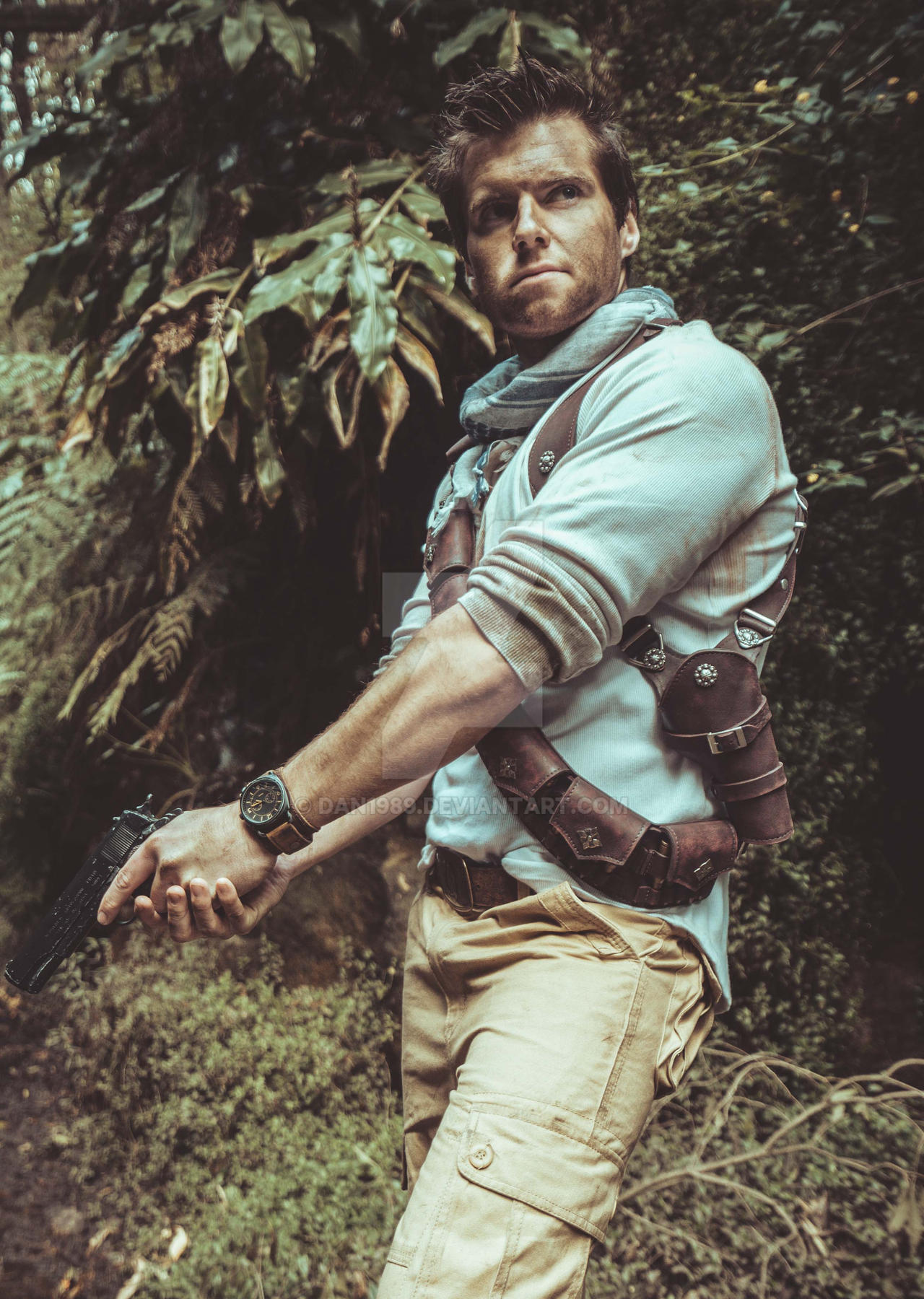 Uncharted Nathan Drake 1 Outfit By Dan1989 On Deviantart