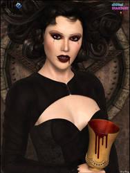 Vampire Dawn by MargyThunderstorm