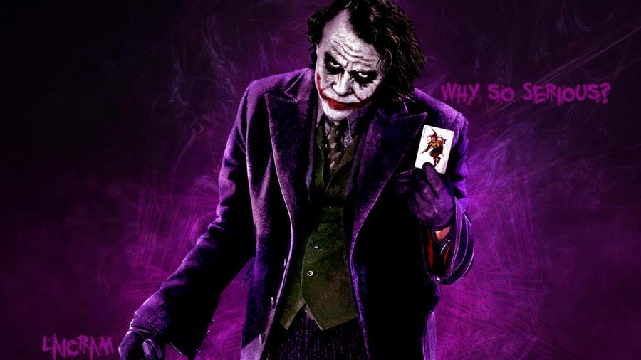Wallpaper l Joker by DarkLaicram