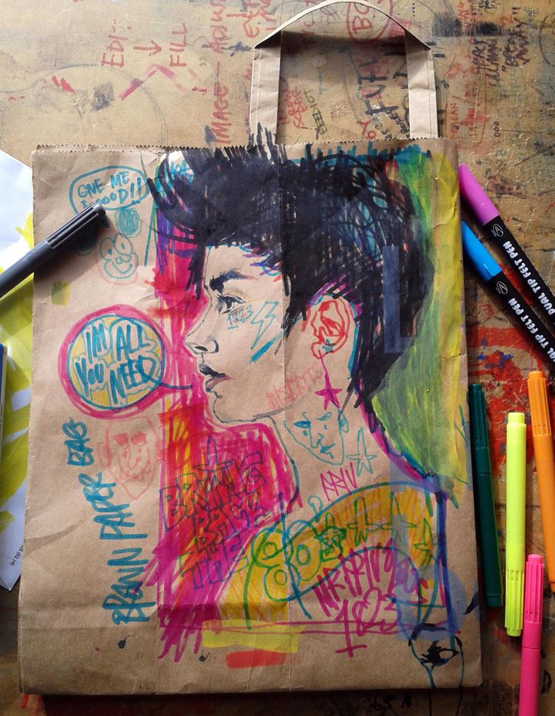 Brown Paper Bag by mrfrivolous