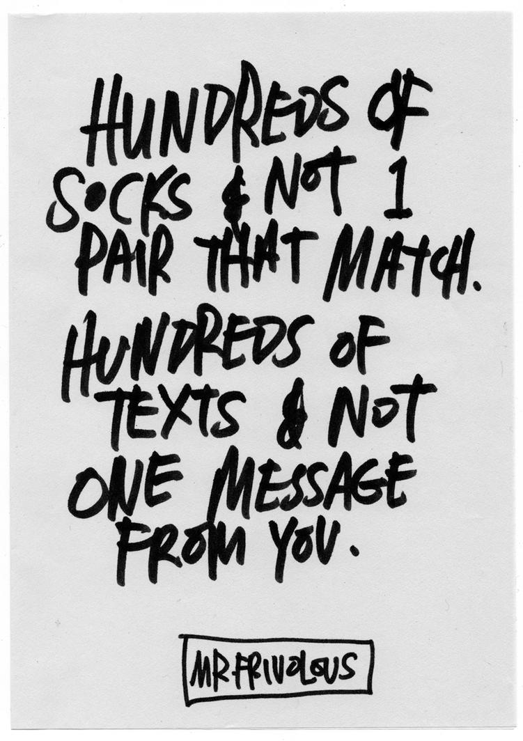 No Message. by mrfrivolous