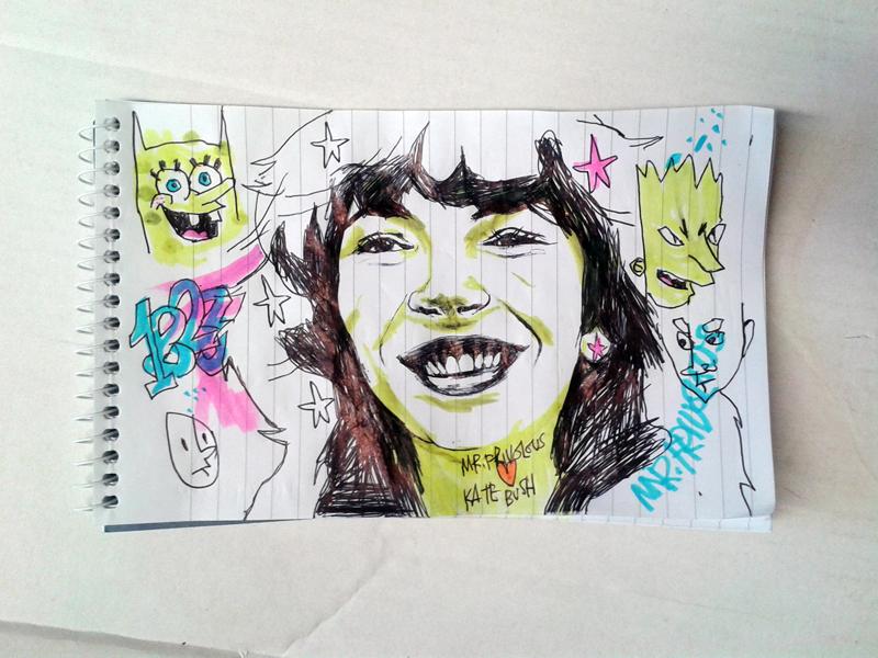 Kate Bush Doodle by mrfrivolous