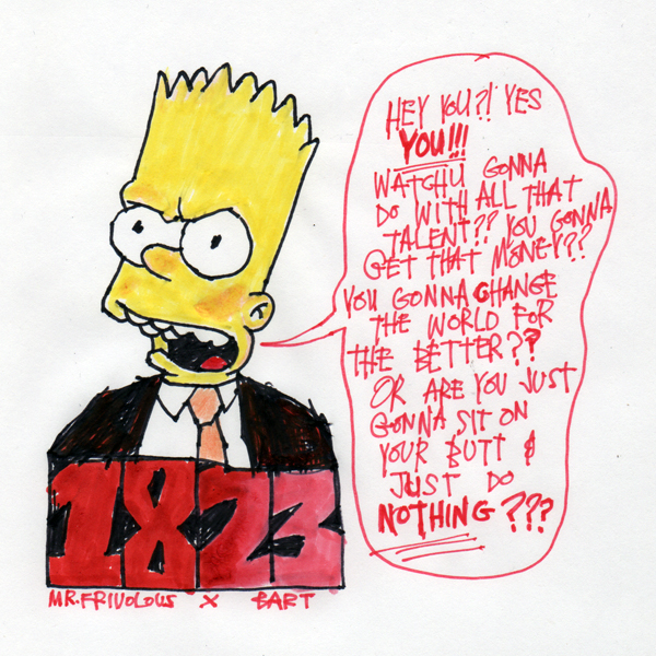 A Message From Bart by mrfrivolous