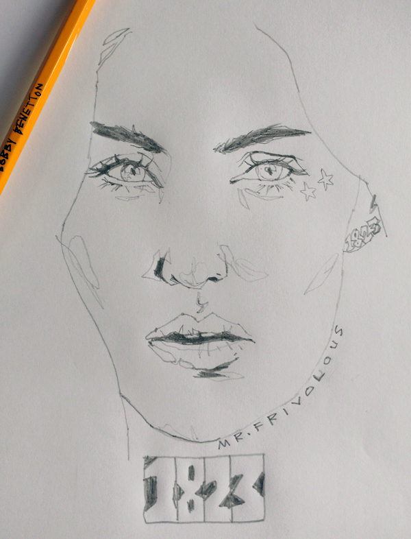 Kate Sketch by mrfrivolous