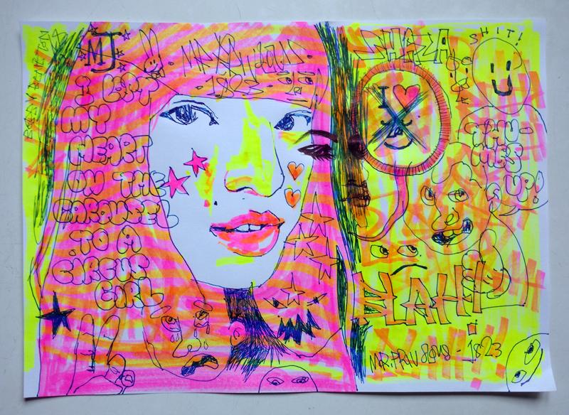 Circus Girl by mrfrivolous