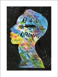 BAD DREAMS - GICLEE PRINT by mrfrivolous