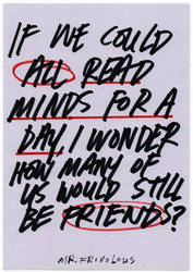 Mind Reader by mrfrivolous
