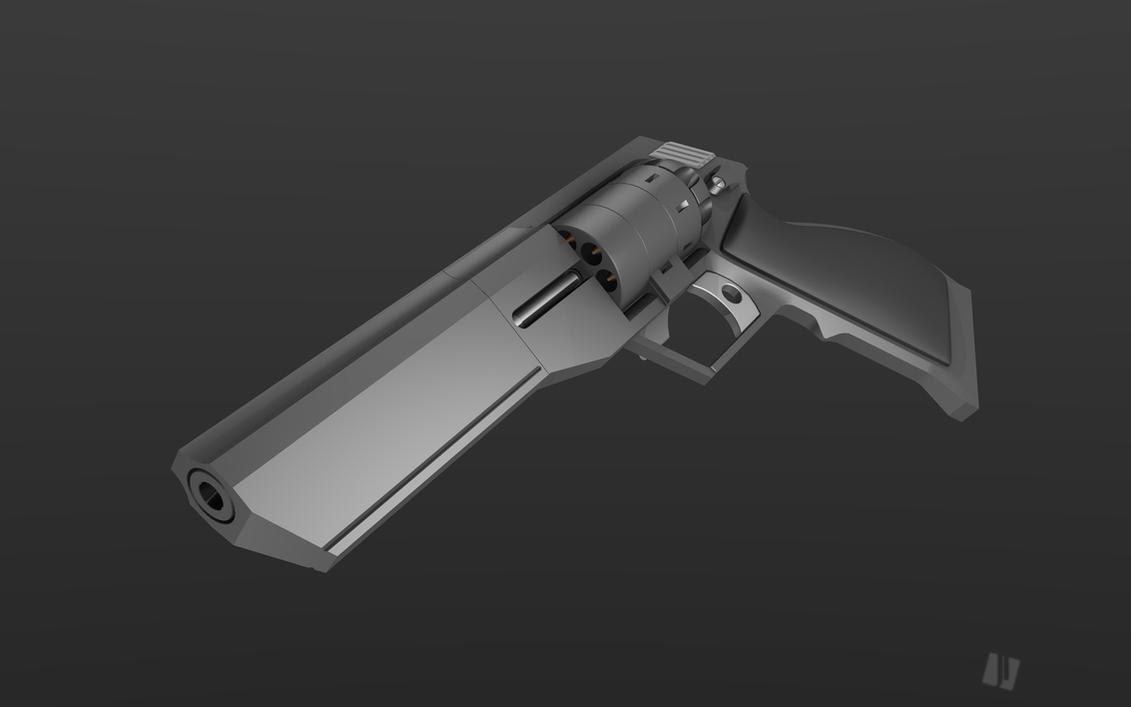 Revolver concept by oblyz on DeviantArt