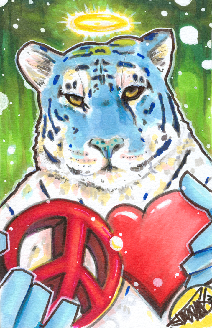 Blue Tiger by Jarrad113