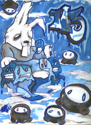feelin blue by Jarrad113