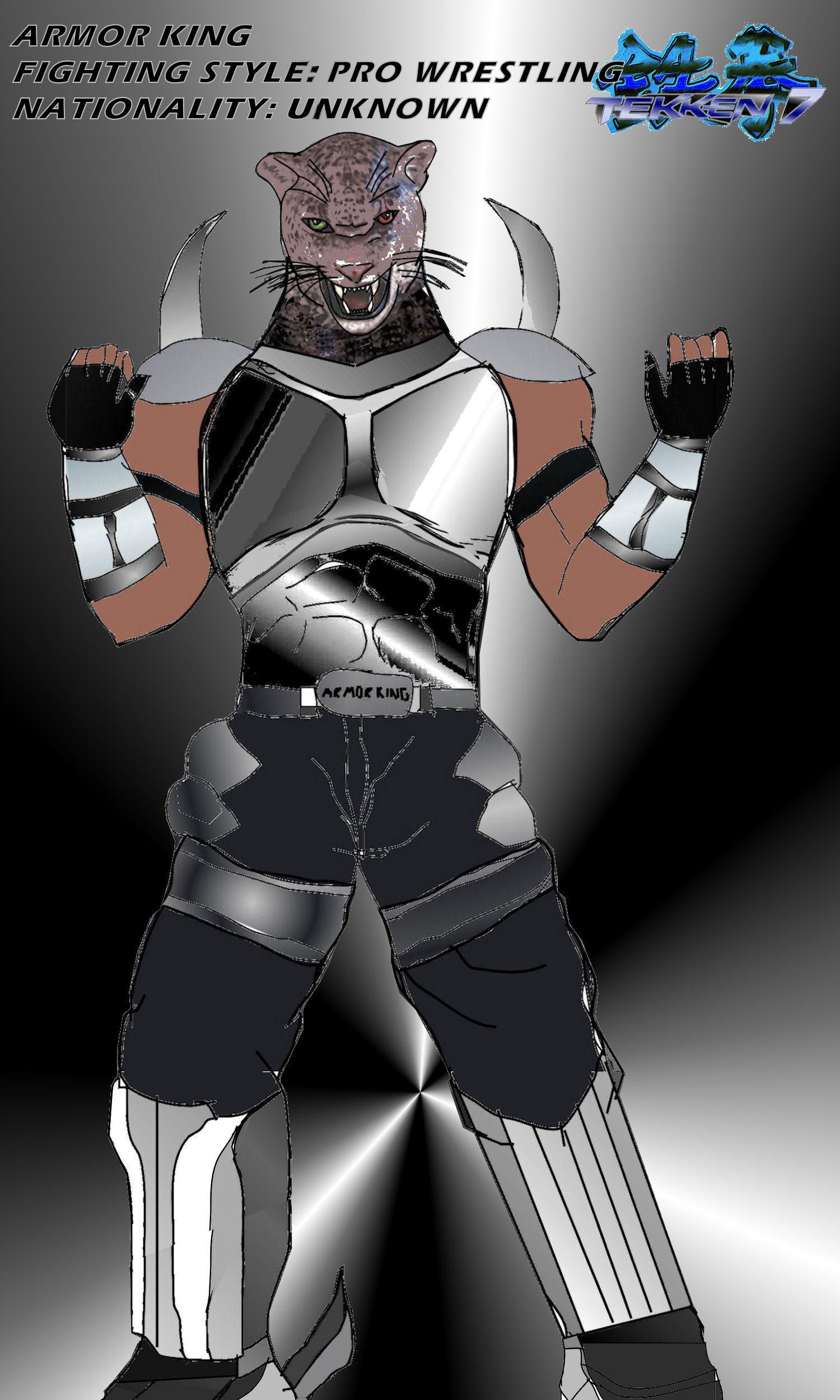 Tekken 7 25 Armor King A By La Laker On Deviantart
