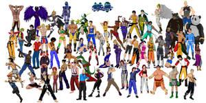 Tekken 7 - Hi-Res Anime Poster