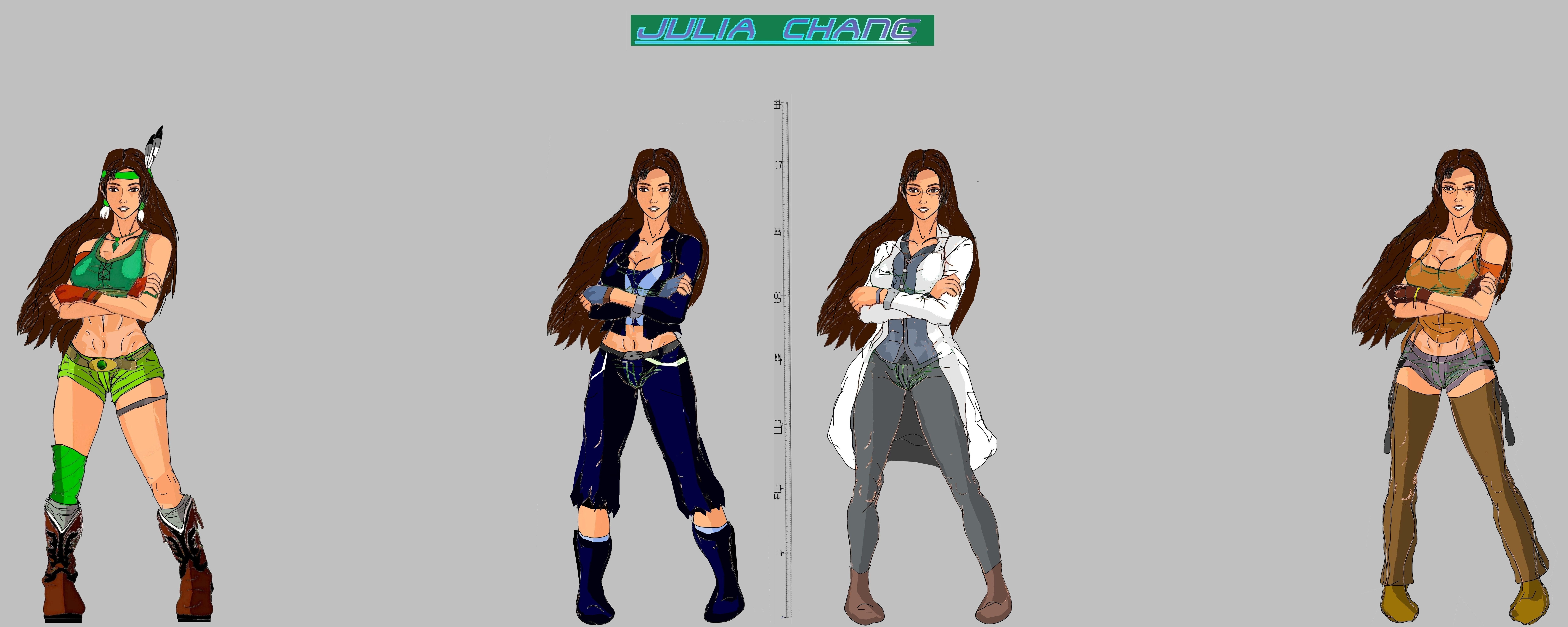 Tekken 7 - Julia Models by LA-Laker