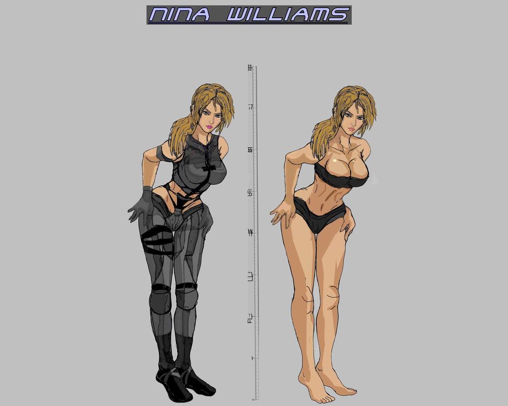 Tekken 7 - Nina Williams by LA-Laker
