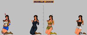 Tekken 7 - Michelle Models