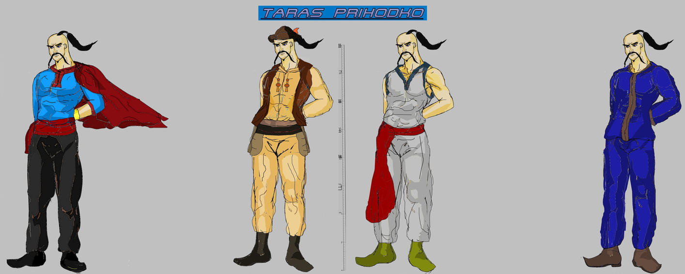 Tekken 7 - Taras Models by LA-Laker