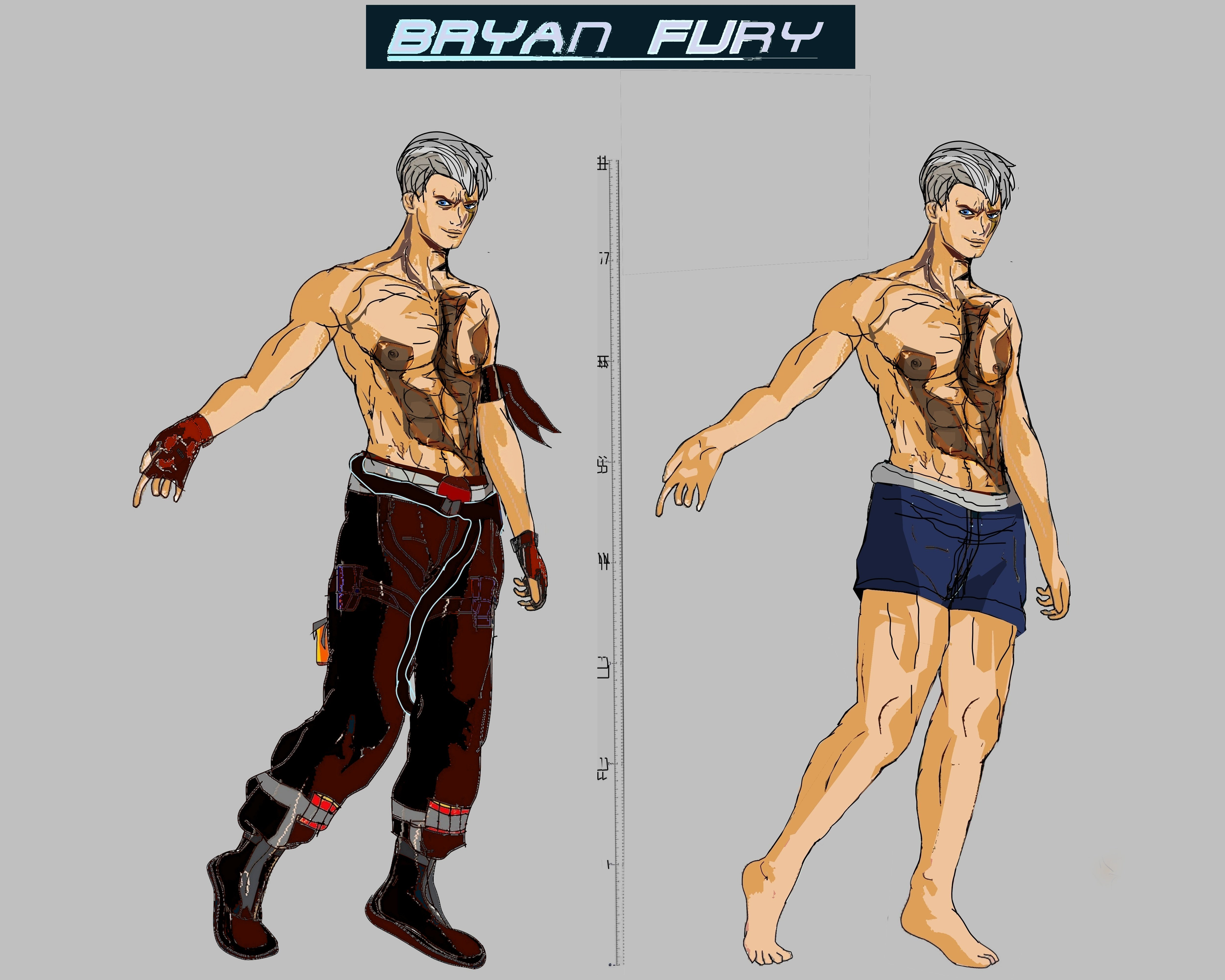 Tekken 7 - Bryan Fury by LA-Laker