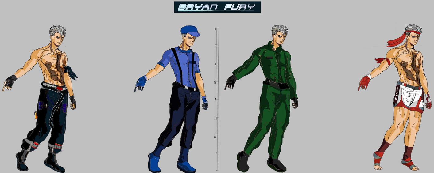 Tekken 7 - Bryan Models by LA-Laker