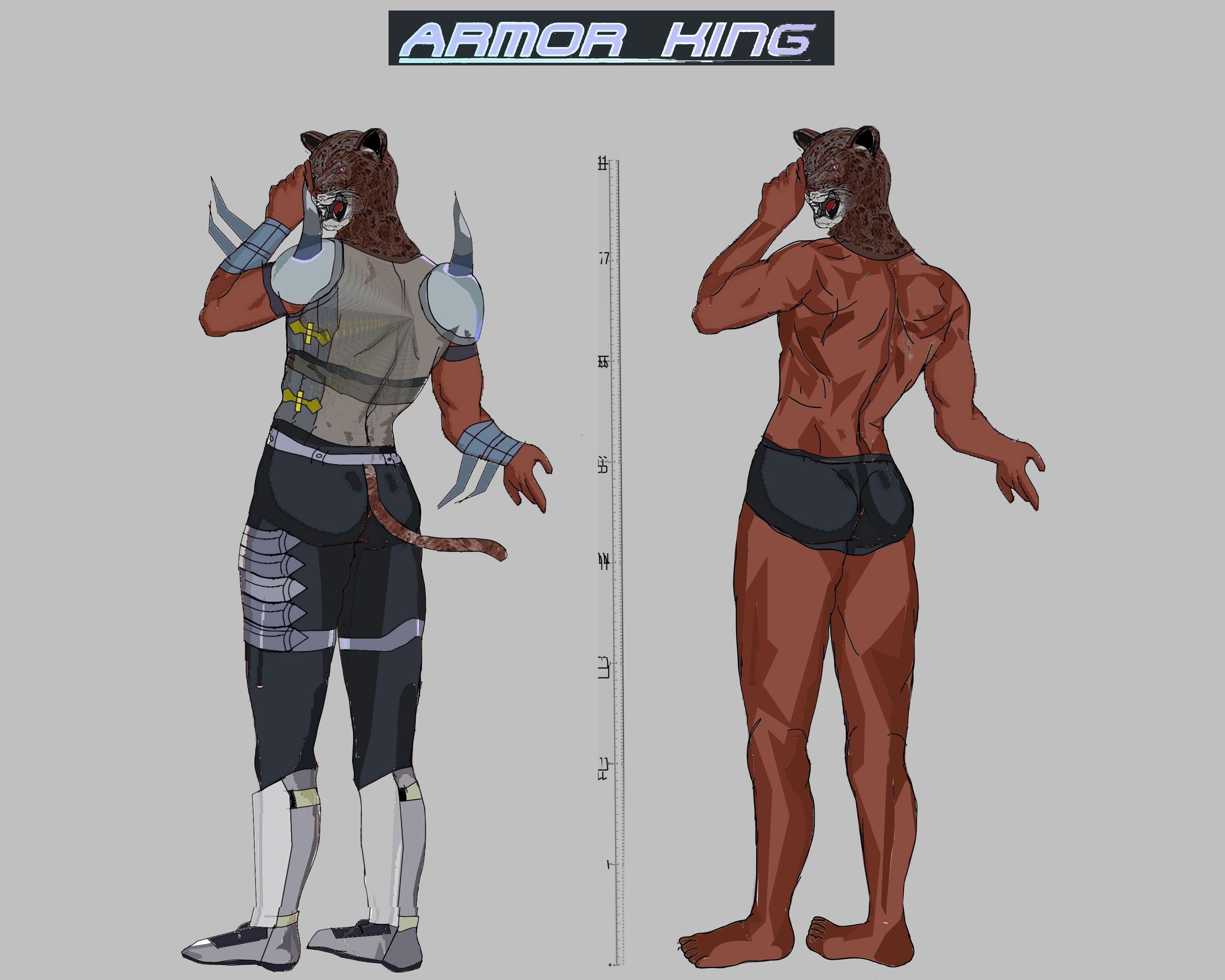 Tekken 7 - Armor King by LA-Laker on DeviantArt