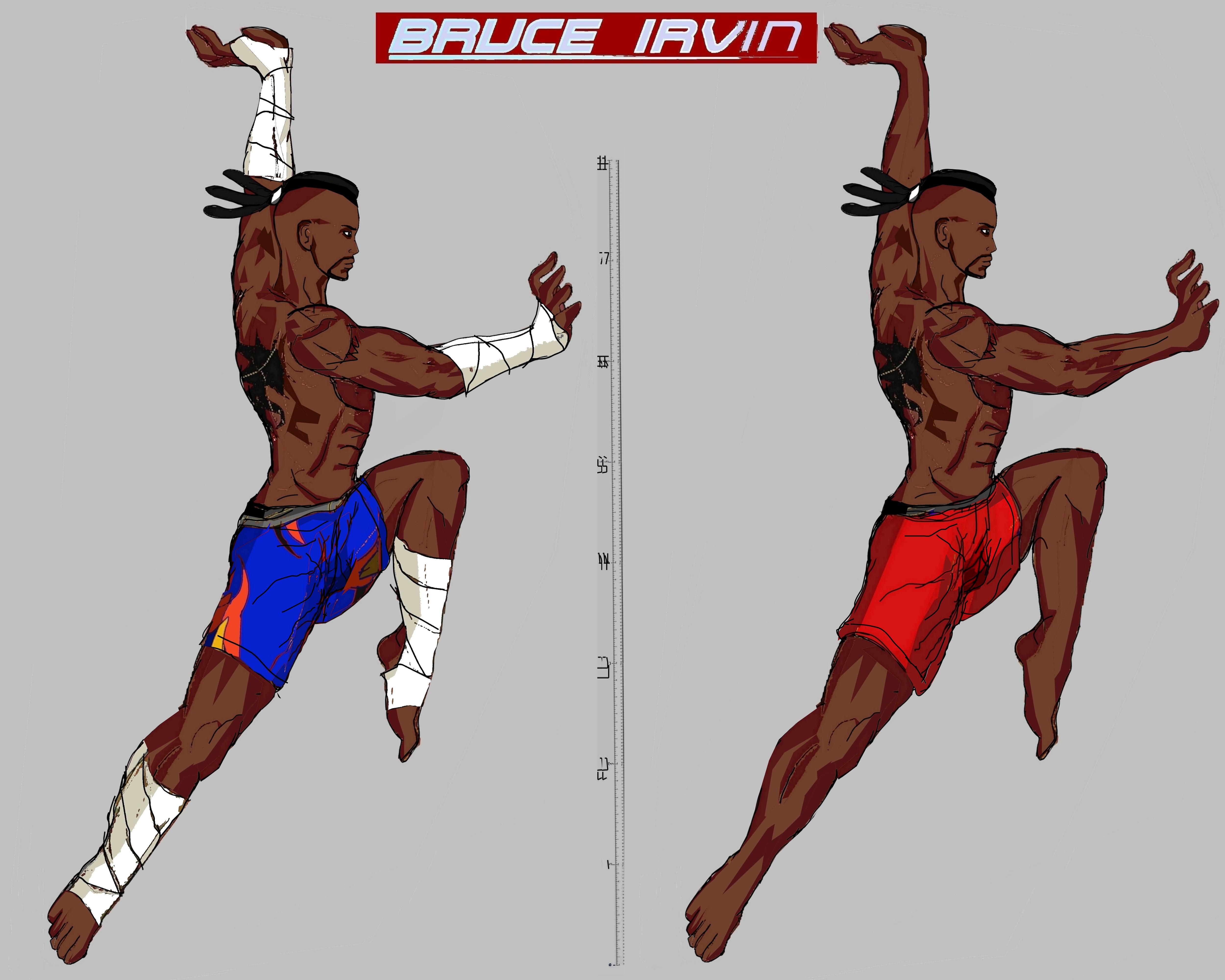Tekken 7 Bruce Irvin By La Laker On Deviantart