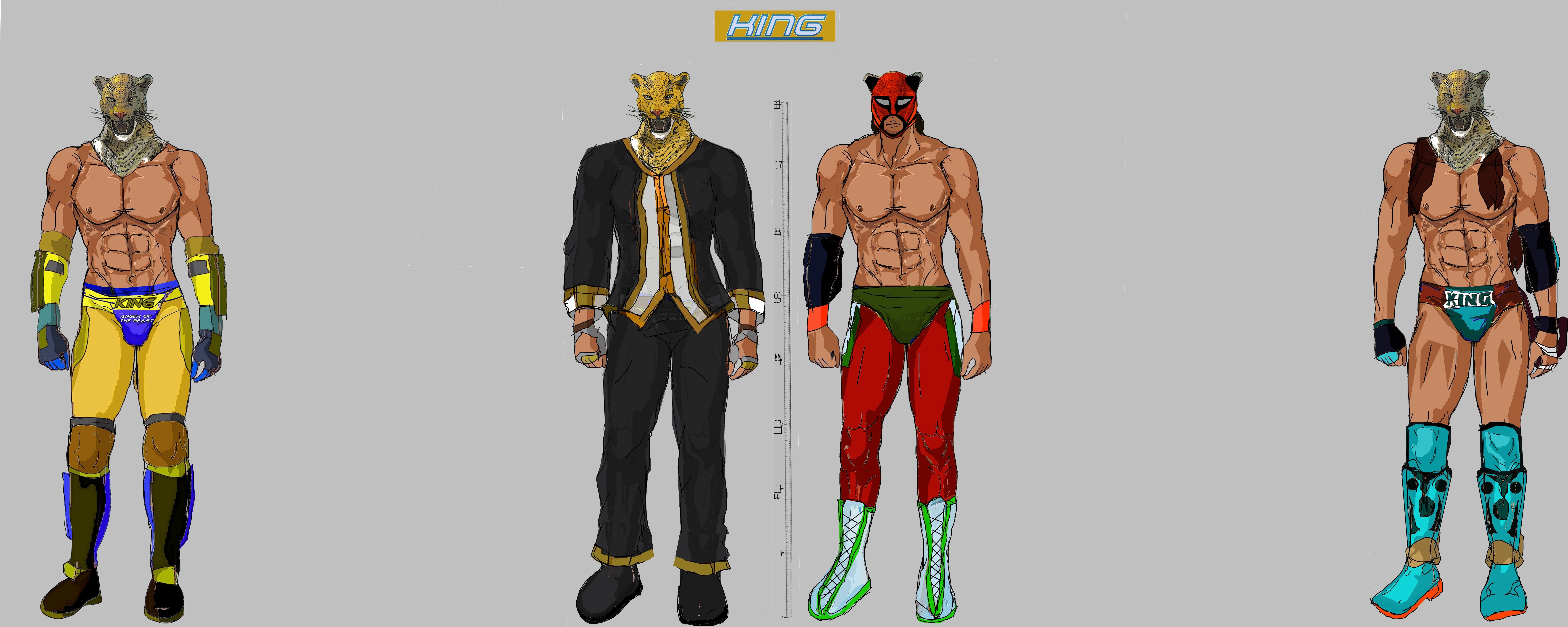 Tekken 7 King Models By La Laker On Deviantart