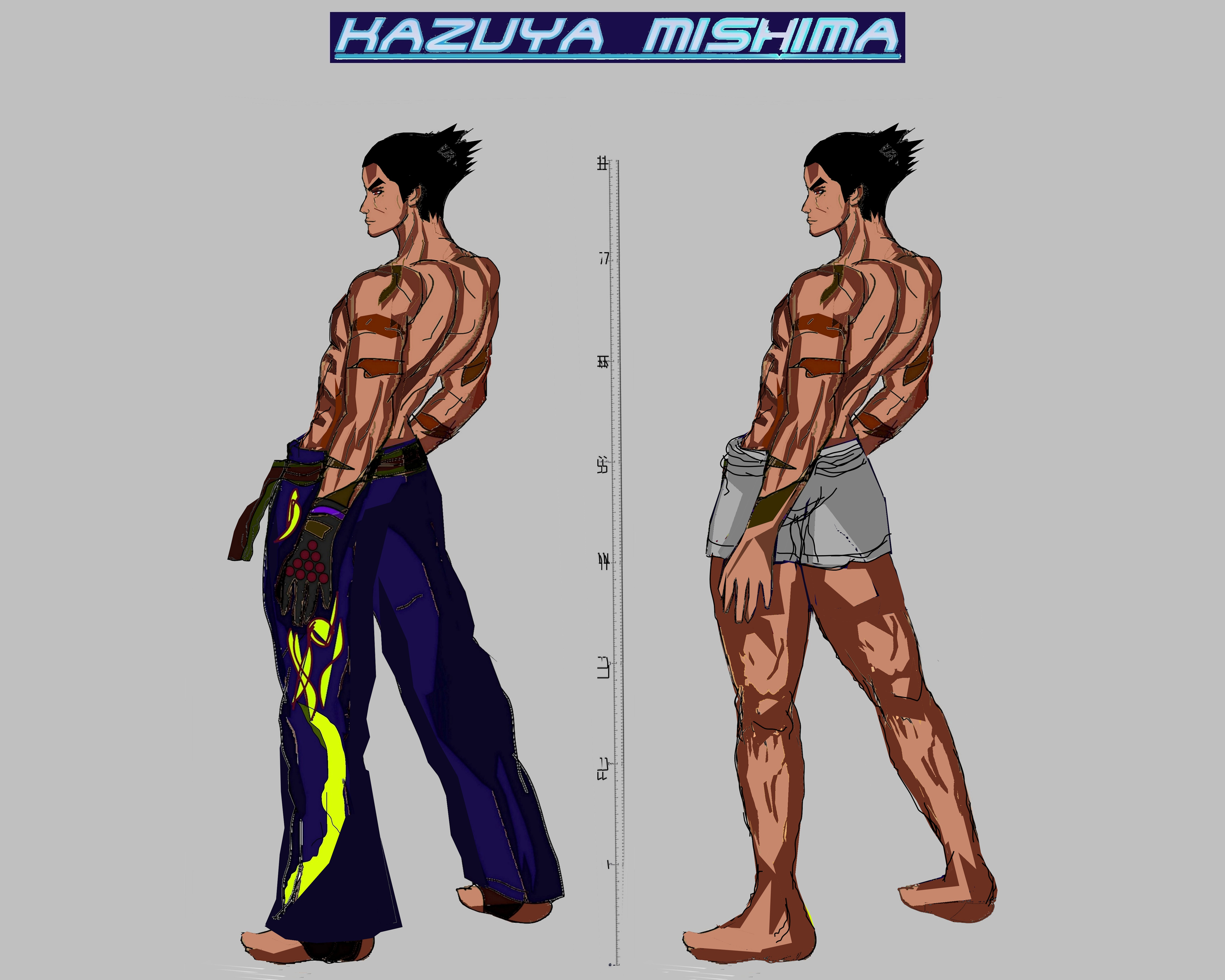 Tekken 7 - Kazuya Mishima by LA-Laker