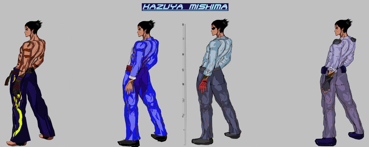 Tekken 7 - Kazuya Models by LA-Laker