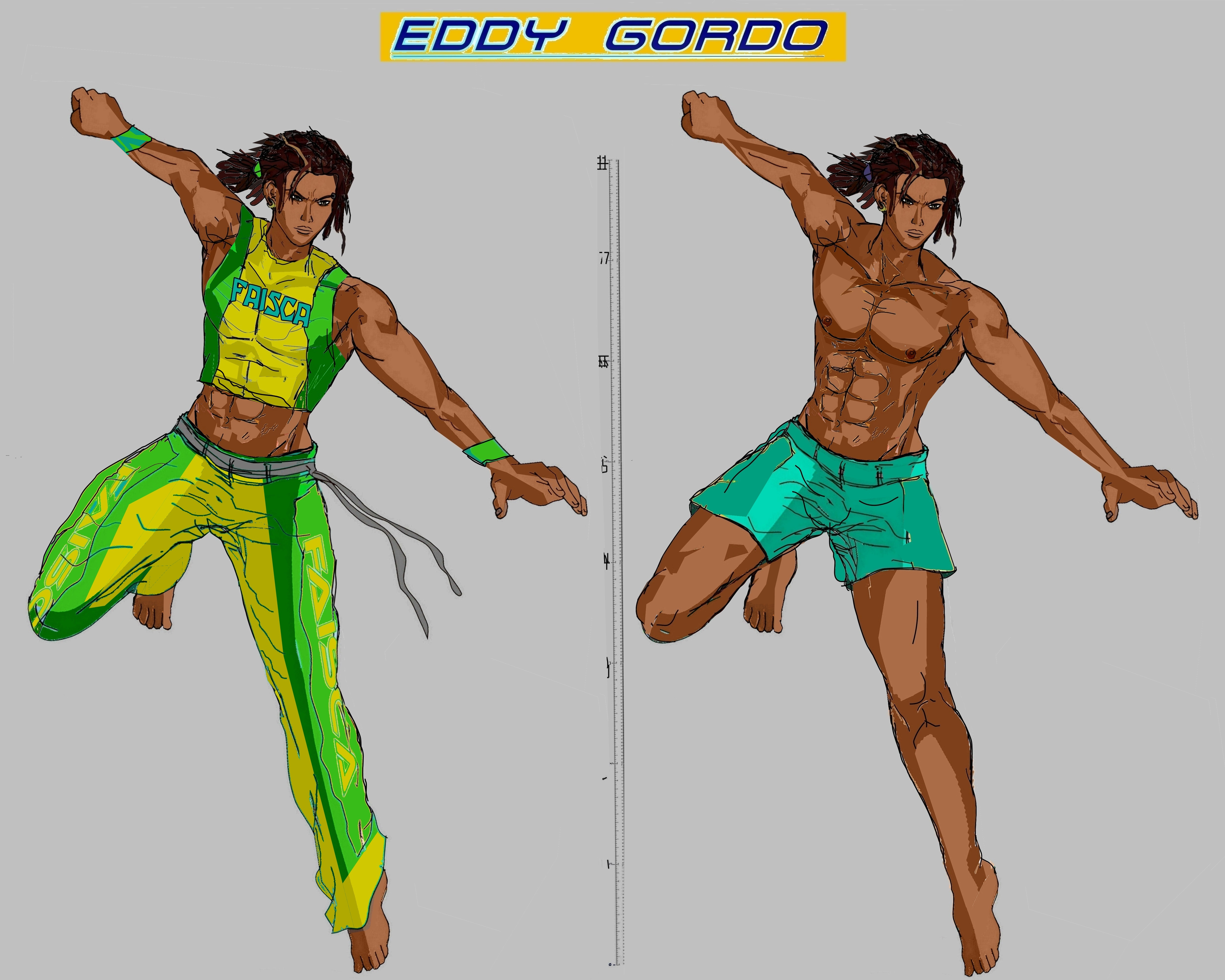 tekken 7 eddy gordo by la laker on deviantart deviantart